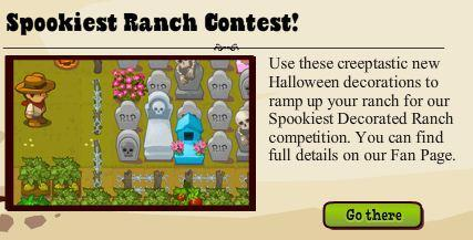 Ranch Town Spookiest Ranch Contest