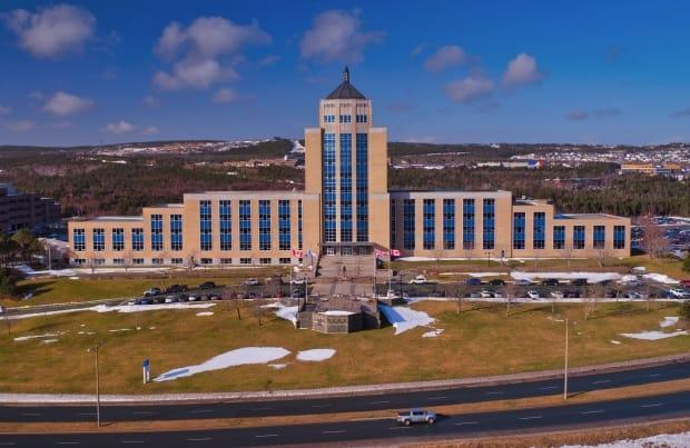 Confederation Building in St. John's was filled with elected officials Monday as the 50th general assembly began regular business. (CBC - image credit)