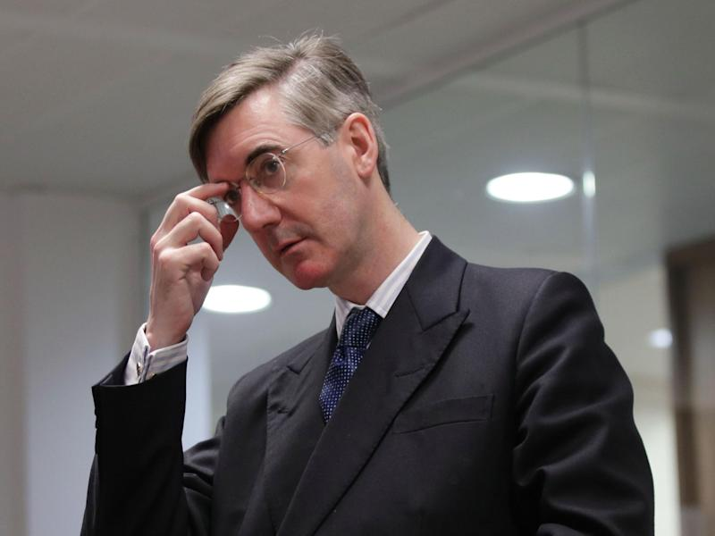 Posh boys such as Jacob Rees-Mogg have jumped eagerly on board the Brexit bandwagon: PA