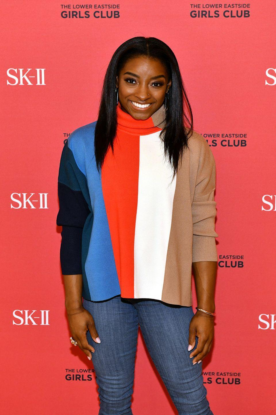 """<p>With her skills and passion for gymnastics, Simone Biles has become the <a href=""""https://www.nytimes.com/2021/05/24/sports/olympics/simone-biles-yurchenko-double-pike.html"""" rel=""""nofollow noopener"""" target=""""_blank"""" data-ylk=""""slk:world's most decorated gymnast"""" class=""""link rapid-noclick-resp"""">world's most decorated gymnast</a>. Between her Olympic and World Championship titles, Biles holds more than 30 medals. The <a href=""""https://www.elle.com/culture/celebrities/a37132040/simone-biles-tokyo-olympics-pressure-instagram/"""" rel=""""nofollow noopener"""" target=""""_blank"""" data-ylk=""""slk:United States gymnast competed"""" class=""""link rapid-noclick-resp"""">United States gymnast competed</a> in the 2020 Summer Games in Tokyo, but pulled out of the team final on July 27, 2021 to care for her mental health.</p>"""