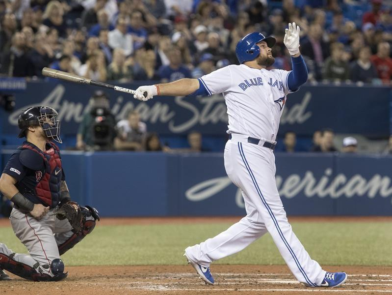Tellez homers twice and Grichuk hits solo shot as Blue Jays dump Red Sox 10-3