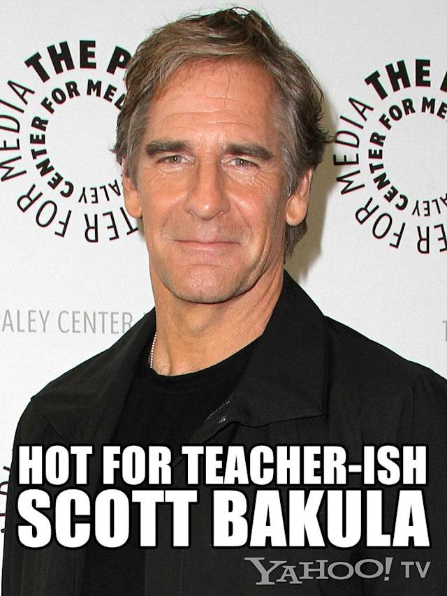 <strong>Scott Bakula<br><br></strong>He's the godfather of all Scotts, if you think about it and search YouTube for Folgers Coffee commercials (not that we did that, because we didn't!). Ah, Bakula. He's the substitute teacher everyone crushed on freshman year of high school. You couldn't tell if he was 25 or 45, married or single. You just knew that he made cheap neckties and tight jeans look sexy. You thought that doing anything with him, even the laundry, would be fun. Yes, this St. Louis, Missouri, native will always be a man of a certain age who inspires quantum leaps of passion.