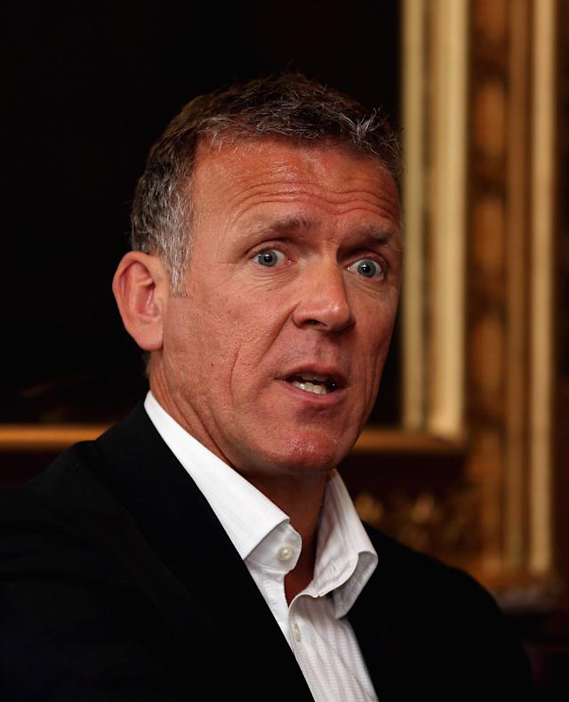LONDON, ENGLAND - MAY 10: Alec Stewart, guest speaker, responds to questions during the SJA Media Lunch sponsored by Ladbrokes at Ye Olde Cock Tavern on May 10, 2012 in London, England. (Photo by Andrew Redington/Getty Images)