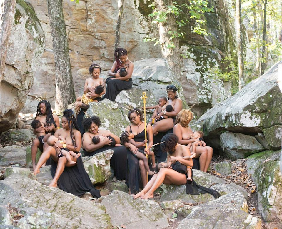 """The nine Alabama moms have formed a strong support group. (Photo: <a href=""""https://www.instagram.com/hc_incorporated/"""" rel=""""nofollow noopener"""" target=""""_blank"""" data-ylk=""""slk:Lakisha Cohill"""" class=""""link rapid-noclick-resp"""">Lakisha Cohill</a>, owner of <a href=""""https://h-cinc.smugmug.com/"""" rel=""""nofollow noopener"""" target=""""_blank"""" data-ylk=""""slk:H&C INC"""" class=""""link rapid-noclick-resp"""">H&C INC</a>)"""