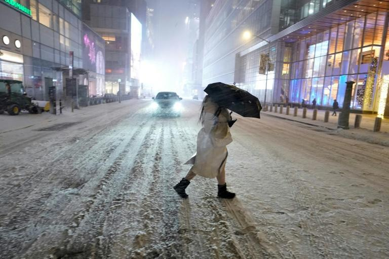 New York City, if hit as badly by the storm as predicted, would be facing the most snow from one storm in more than four years