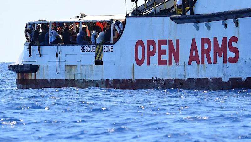 France ready to take some Open Arms migrants, Spanish offer rejected