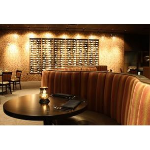 Vince Young Steakhouse - All the ingredients are made from scratch - even the ketchup. A hidden gem of the restaurant is the Ten Room – a private room created by Vince, which comes with a custom football-shaped table, and a wine list composed by the quarterback himself