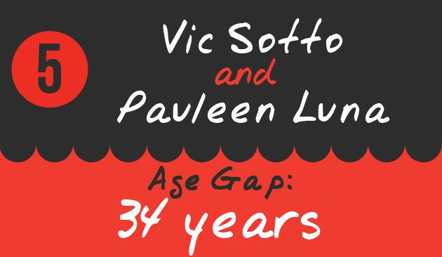 5. Vic Sotto and Pauleen Luna, Age Gap: 34 years