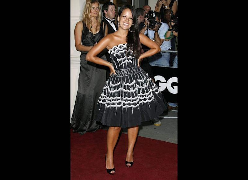 <strong>2006</strong> Lily arriving at the GQ Men of the Year Awards