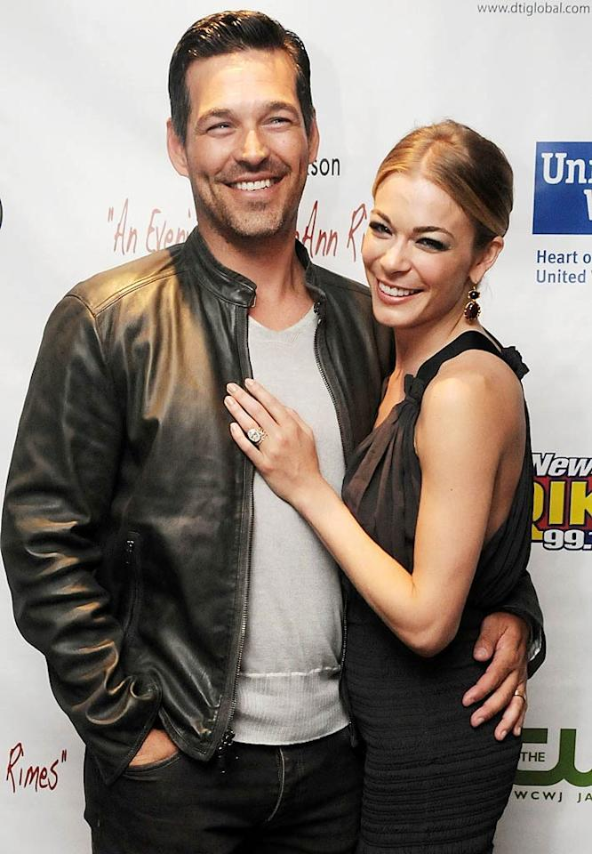 Eddie Cibrian and LeAnn Rimes, who famously left their spouses for each other after meeting on the set of a Lifetime movie in 2009, made their romance official when they tied the knot on April 22. The more than 40 guests invited were told they were going to attend an engagement part. Instead, they witnessed the couple's nuptials at a private home in California.