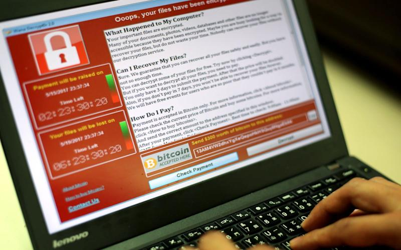 The global WannaCry ransomware attack has infected more than 300,000 computers - EPA