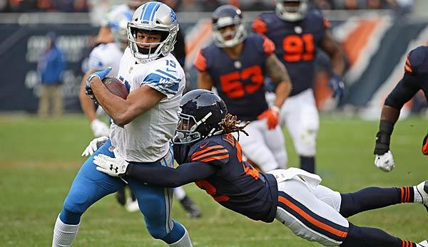 NFL: Detroit Lions vs Chicago Bears im Livestream
