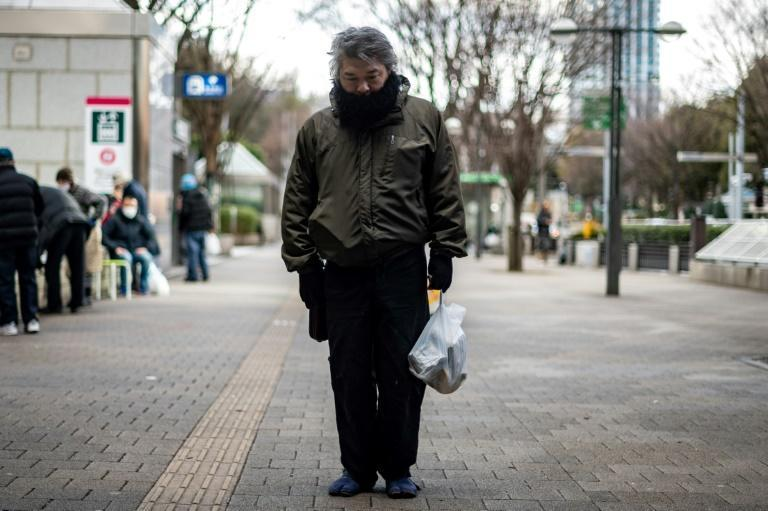Yuichiro, 46, says there is no work for him in Japan's capital