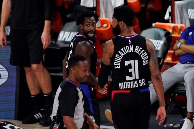 NBA fines Clippers' Beverley $25,000 for verbal abuse of ref