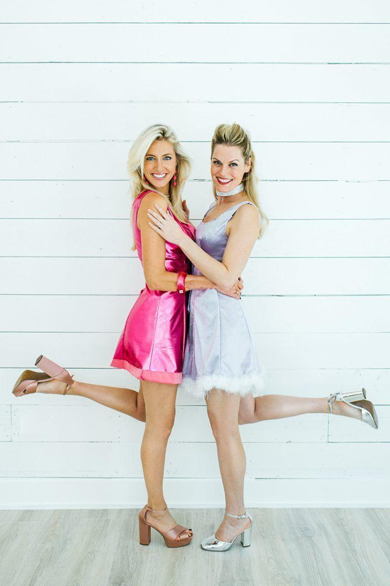 """<p>All you and your pal need are a pink dress and blue dress in order to take yourselves back to high school as Romy and Michele.</p><p><strong><em><a href=""""https://camillestyles.com/design/romy-michele-costumes/"""" rel=""""nofollow noopener"""" target=""""_blank"""" data-ylk=""""slk:Get the tutorial at Camille Styles"""" class=""""link rapid-noclick-resp"""">Get the tutorial at Camille Styles</a>.</em></strong></p>"""
