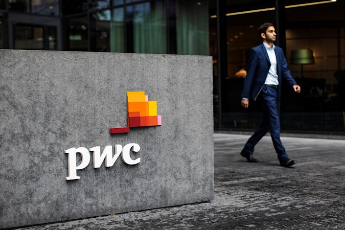 PwC office employee consulting accounting