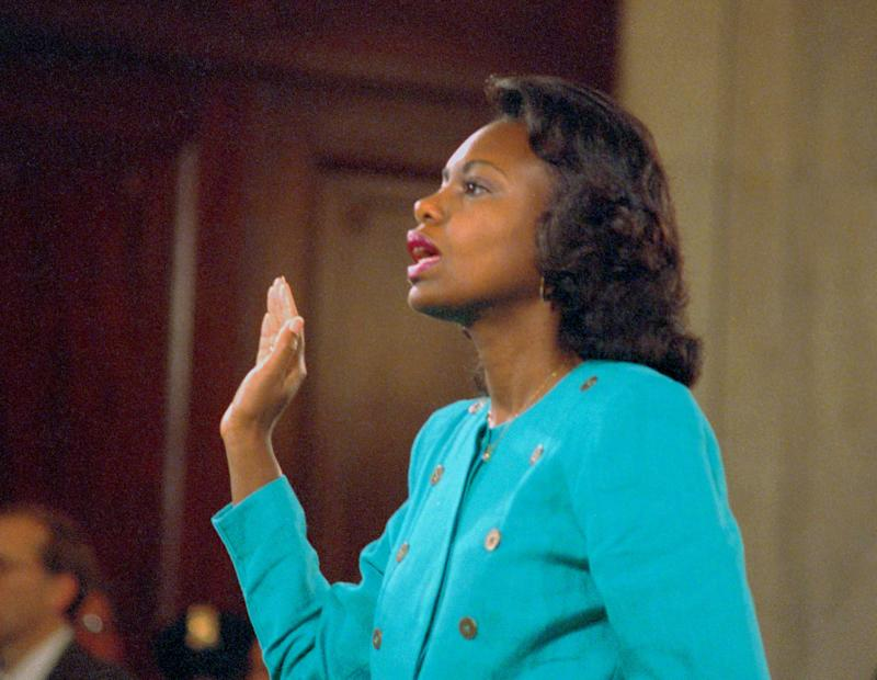 DuringThomas' 1991 confirmation hearing, former employee Anita Hill accused him of sexually harassing her.