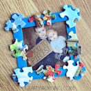 """<p>Building the frame is easy: All you need is some cardboard, a few spare puzzle pieces, and some popsicle sticks. The hard part will be choosing which picture to frame.</p><p><em><a href=""""https://www.craftymorning.com/love-pieces-fathers-day-frame-gift/"""" rel=""""nofollow noopener"""" target=""""_blank"""" data-ylk=""""slk:Get the tutorial from Crafty Morning »"""" class=""""link rapid-noclick-resp"""">Get the tutorial from Crafty Morning »</a></em> </p>"""