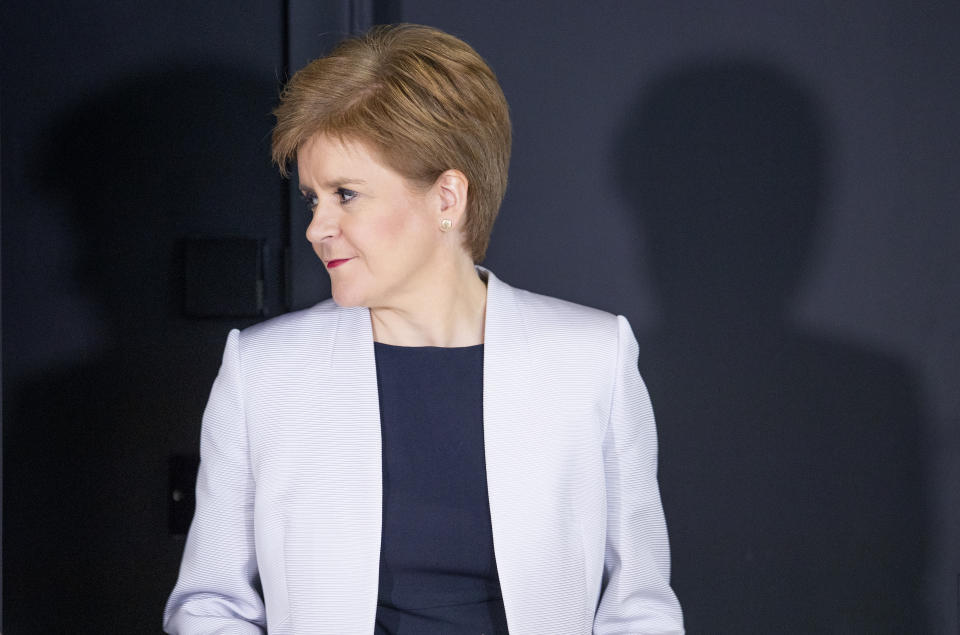 "File photo dated 25/03/20 of Scotland's First Minister Nicola Sturgeon, who is expected to announce ""cautious"" steps out of lockdown for Scotland."