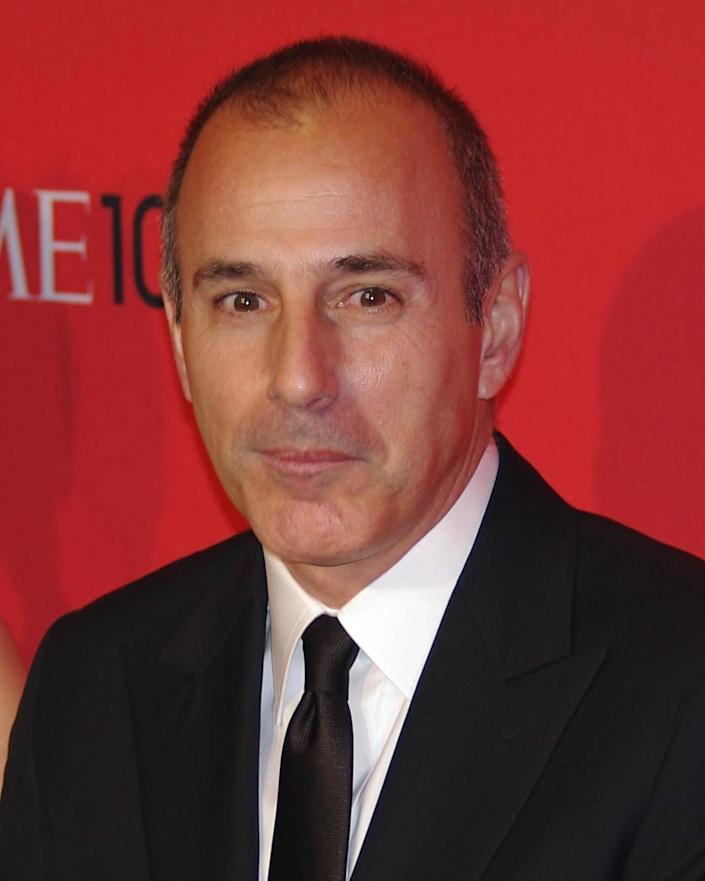 Matt Lauer said there is