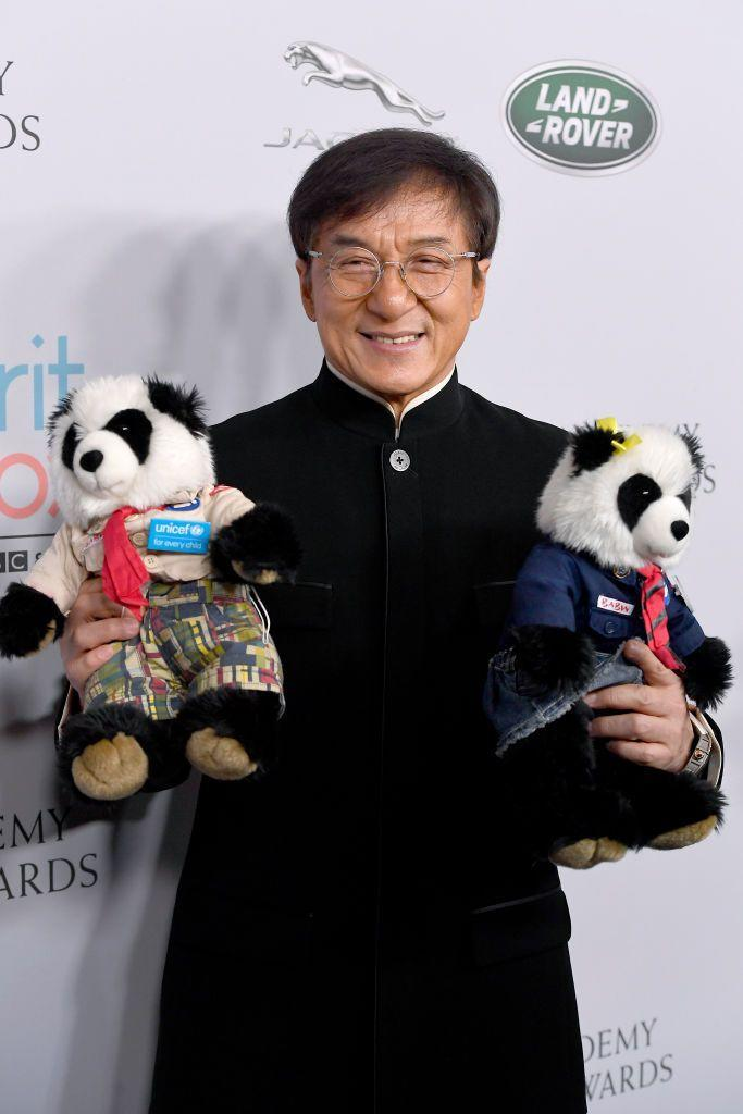 <p>Aries are often active and athletic, and who's more active than Jackie Chan?</p>