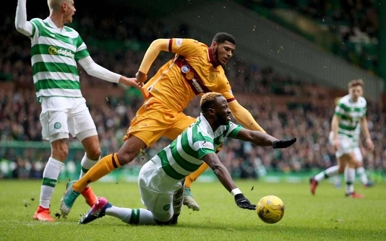 Celtic march on as Kieran Tierney and Motherwell's Zak Jules learn tough lessons