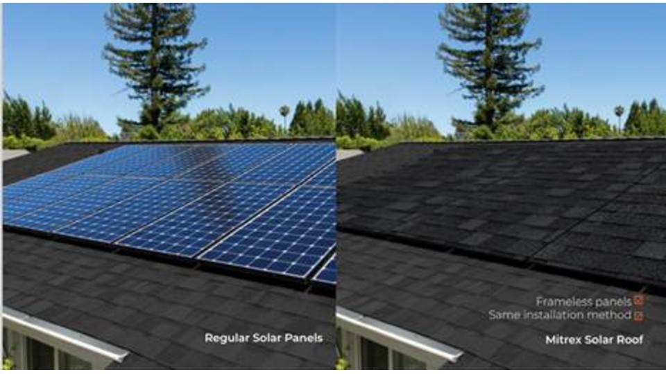 Solar Roof - Mitrex, prices range from $248-$543