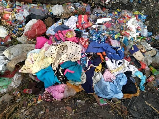 Michelle Kresnyak, the general manager of the Gabriola Island Recycling Organization, says the organization receives over 45,000 kilograms of donated clothing every year. (Shutterstock / infiksjurnal - image credit)