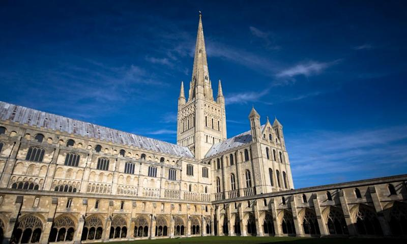 Norwich cathedral, whose master of music says the pandemic has been a huge blow.