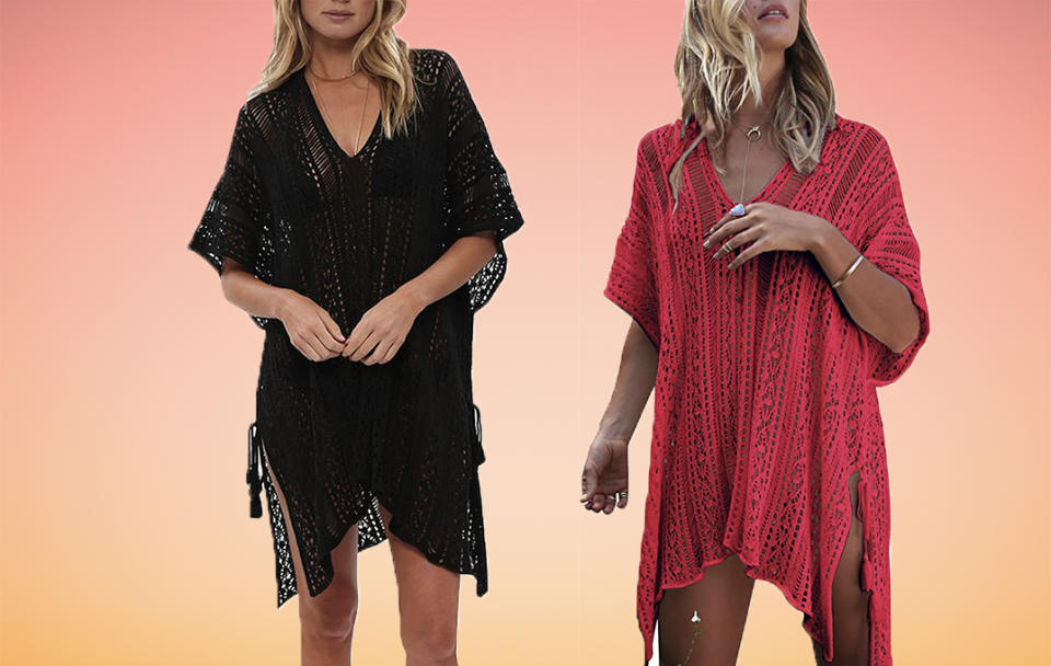 Rock some bold beach black...at a price that won't put your finances in the red. (Photo: Amazon)