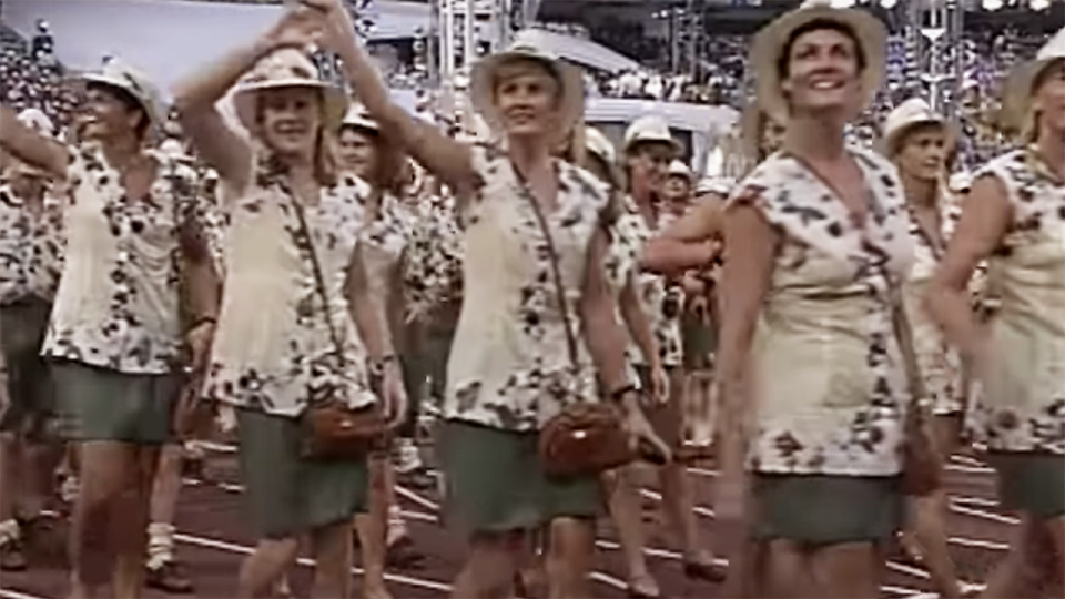 Australia's 1992 Olympic outfit