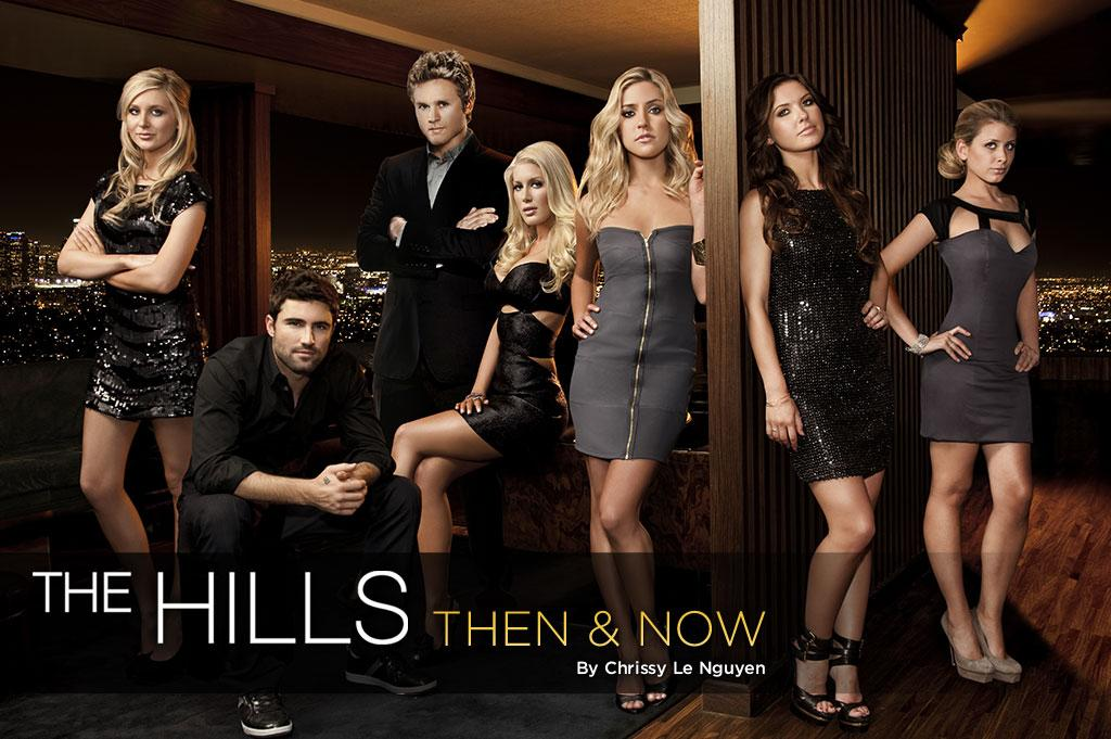"Back in 2006, MTV spun off its reality hit ""Laguna Beach"" with <a href=""/the-hills/show/39437"">""The Hills,""</a> where cameras continued to follow Lauren ""LC"" Conrad as she moved from Orange County to Los Angeles. ""The Hills"" quickly became addictive TV due to the attractiveness of its part soap opera, part documentary format, which begged the question: When is a reality program not really reality? An undeniable guilty pleasure, the show introduced a slew of pretty, young faces, and even one of today's most talked-about celebrity couples: Speidi. As the landmark series embarks on its sixth and final season this week, let's take a walk down memory lane with ""The Hills"" gang, then and now."