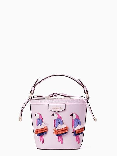 <p><span>Pippa Flock Party Small Bucket Bag</span> ($129, originally $339)</p>