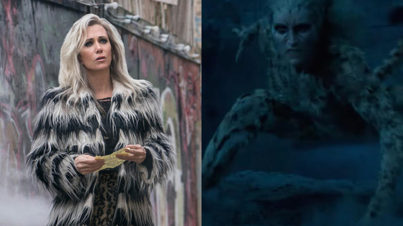 Kristen Wiig as Cheetah in 'Wonder Woman 1984'. (Credit: Clay Enos/DC/Warner Bros)