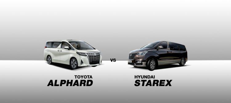 Car Comparison 2019 Toyota Alphard Vs 2019 Hyundai Grand