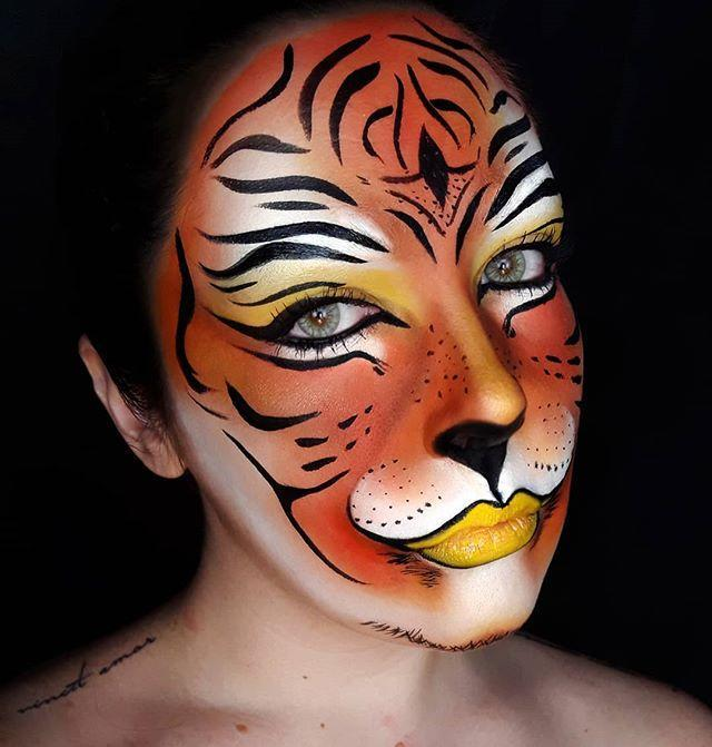 "<p>Feeling artistic? If you've got a steady hand for drawing, this tiger face paint idea is so stunning!</p><p><strong>RELATED:</strong> <a href=""https://www.goodhousekeeping.com/holidays/halloween-ideas/g28126244/easy-halloween-face-paint-ideas/"" rel=""nofollow noopener"" target=""_blank"" data-ylk=""slk:30 Best Easy Halloween Face Paint Ideas That Even Unartistic Parents Can Attempt"" class=""link rapid-noclick-resp"">30 Best Easy Halloween Face Paint Ideas That Even Unartistic Parents Can Attempt</a></p><p><a href=""https://www.instagram.com/p/CATcffFqDNt/&hidecaption=true"" rel=""nofollow noopener"" target=""_blank"" data-ylk=""slk:See the original post on Instagram"" class=""link rapid-noclick-resp"">See the original post on Instagram</a></p>"