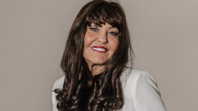 Former Dragons Den star Hilary Devey says she will give up her 40-year habit (Public Health England/PA)