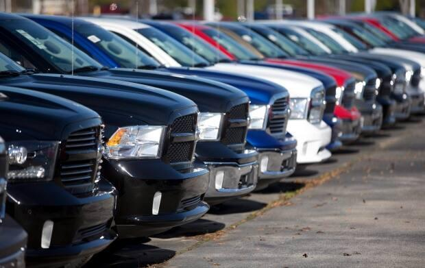 A trend toward truck purchasing continued through the pandemic. (John Bazemore/Associated Press - image credit)