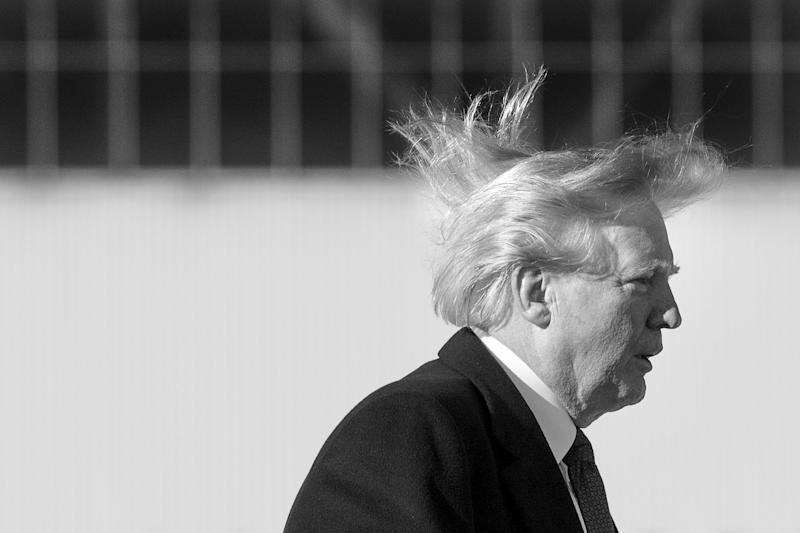 Watch: Donald Trump's Hair Flaps in the Wind, Revealing His Scalp, and Real Hairstylists Share Their Expert Opinions on 'Kimmel'