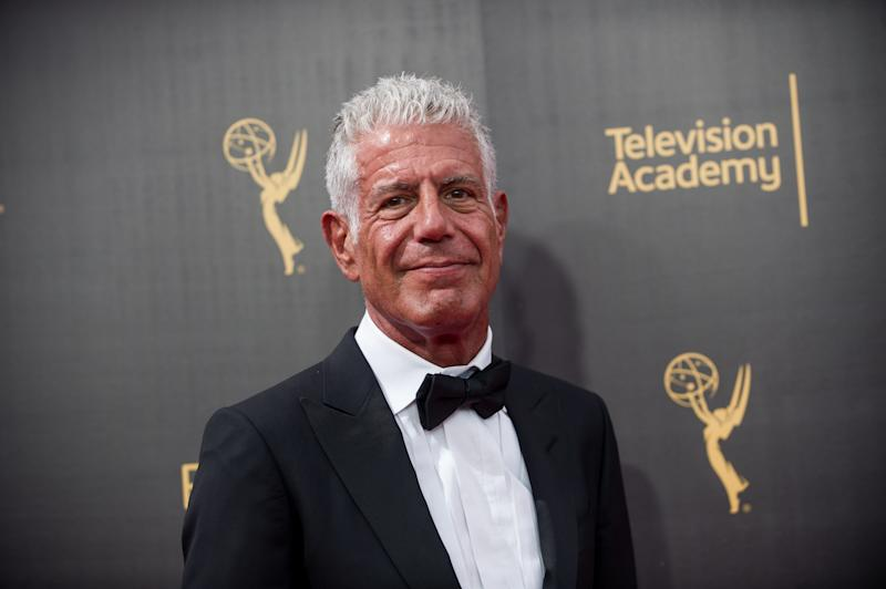 Anthony Bourdain earns posthumous Emmy nomination for 'Parts Unknown'