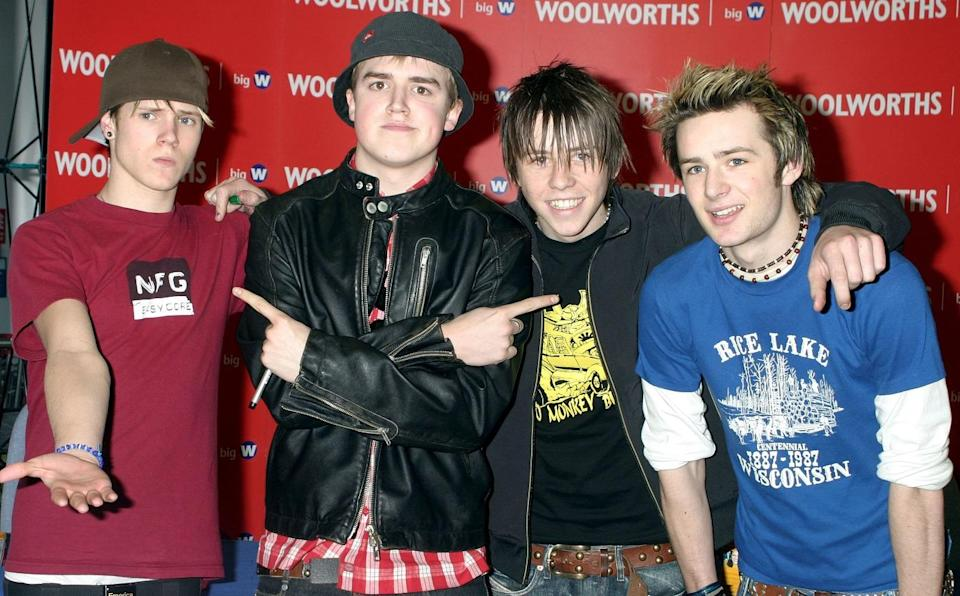 Tom and Harry have been in McFly together for 14 years. Copyright: [Rex]