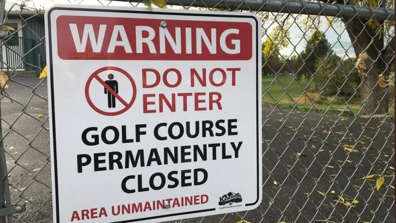 'Small tent city' proposed for former golf course
