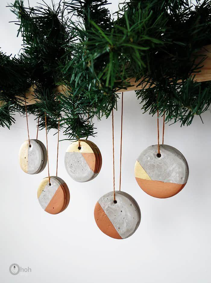 """<p>Turns out, you can make sophisticated ornaments out of just about anything. Take these painted concrete baubles, for example. </p><p><em>Get the tutorial at <a href=""""https://www.ohohdeco.com/concrete-ornament/"""" rel=""""nofollow noopener"""" target=""""_blank"""" data-ylk=""""slk:Oh Oh Deco"""" class=""""link rapid-noclick-resp"""">Oh Oh Deco</a>.</em></p><p><a class=""""link rapid-noclick-resp"""" href=""""https://www.amazon.com/Pouring-Masters-Karat-Metallic-Acrylic/dp/B07ZFVDXSM/?tag=syn-yahoo-20&ascsubtag=%5Bartid%7C10072.g.34443405%5Bsrc%7Cyahoo-us"""" rel=""""nofollow noopener"""" target=""""_blank"""" data-ylk=""""slk:SHOP GOLD PAINT"""">SHOP GOLD PAINT</a></p>"""
