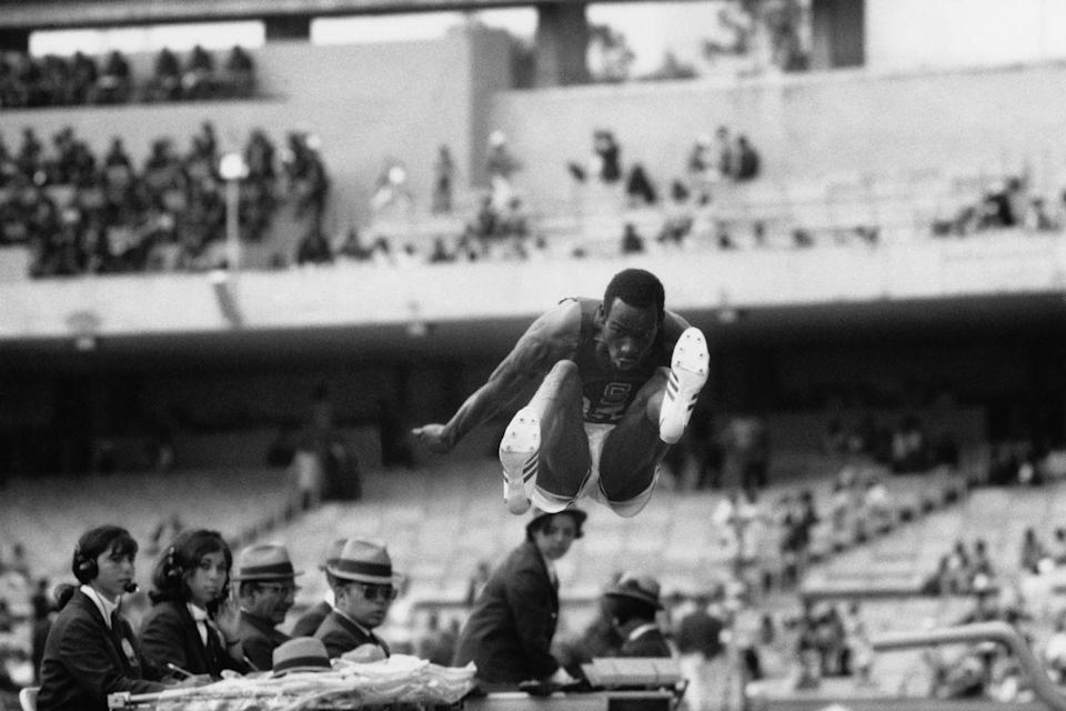 <p>American long jumper Bob Beamon barely qualified for the Olympics. Then, he went to set an Olympic long jump record, leaping so far the judges' devices couldn't measure the 29+ feet. His record holds to this day.</p>
