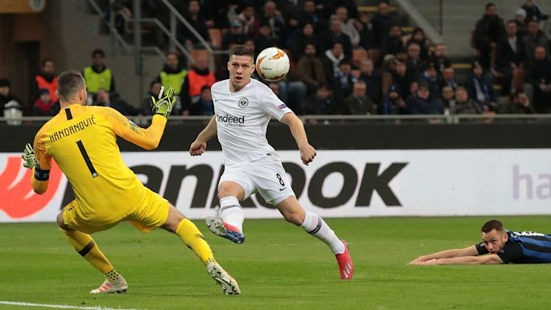 Inter 0 Eintracht Frankfurt 1 (0-1 agg): Jovic sends Nerazzurri crashing out
