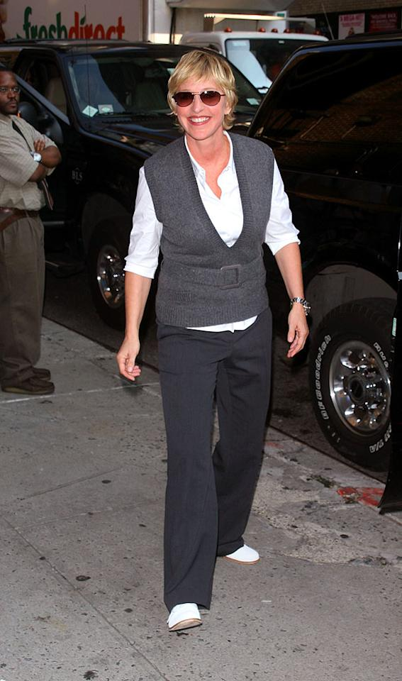 """When talk show host Ellen DeGeneres, a member of the Writer's Guild of America, crossed the picket line in November to continue taping her daytime talkshow, her approval rating within the entertainment industry dropped. This mistake, in addition to the ridiculous drama surrounding Iggygate, made for one tough year for the funnywoman. Jim Spellman/<a href=""""http://www.wireimage.com"""" target=""""new"""">WireImage.com</a> - August 29, 2007"""