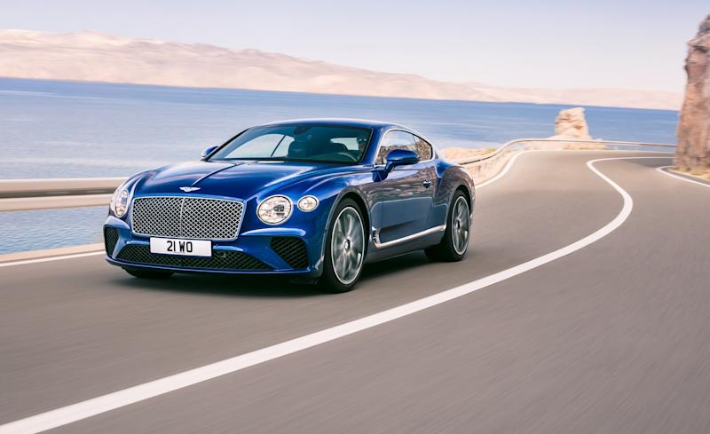 Merveilleux Tradition Runs Deep At Bentley, As Was Eminently Clear When The Company  Pulled Back The Curtain On The Third Generation Continental GT At Its  Headquarters ...
