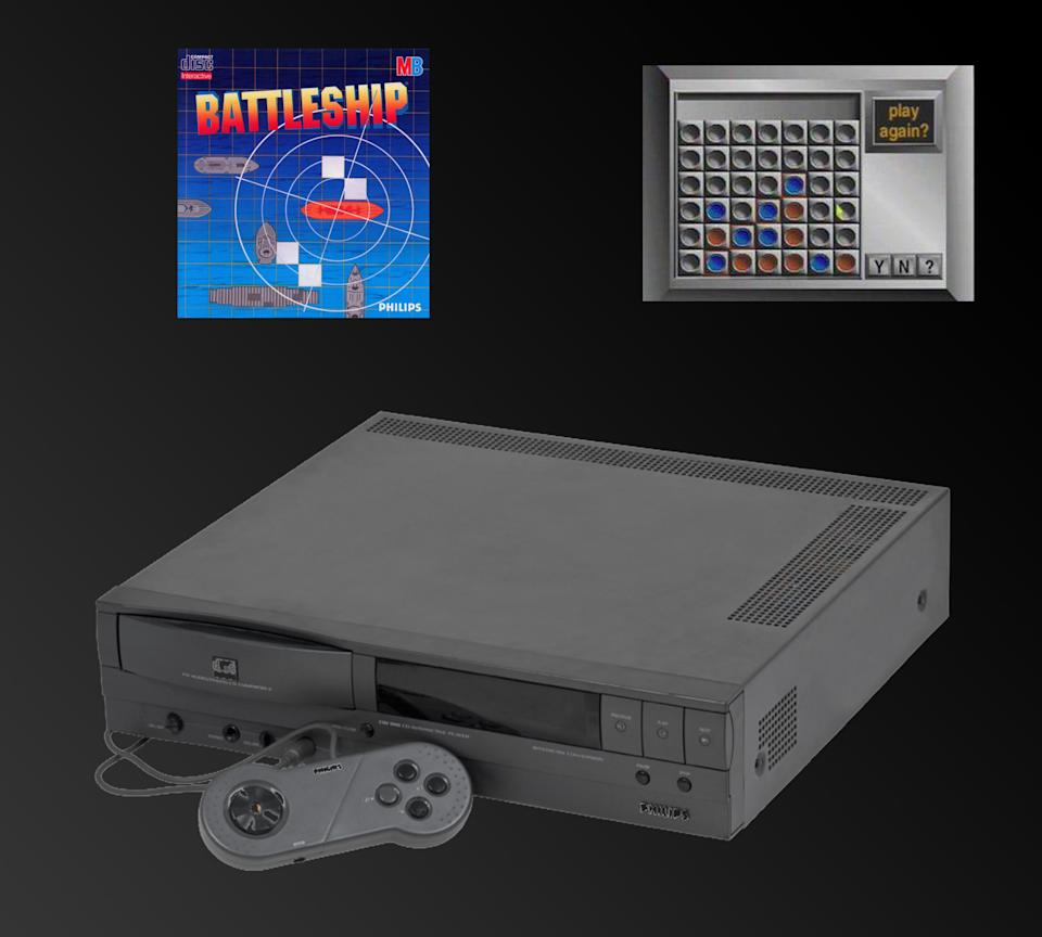 Insanely expensive and boasting some of the worst games of all time, the CDi was pretty much a disaster. That was foreshadowed in the launch lineup, which included such riveting games as Sargon Chess, Connect Four, and Battleship.