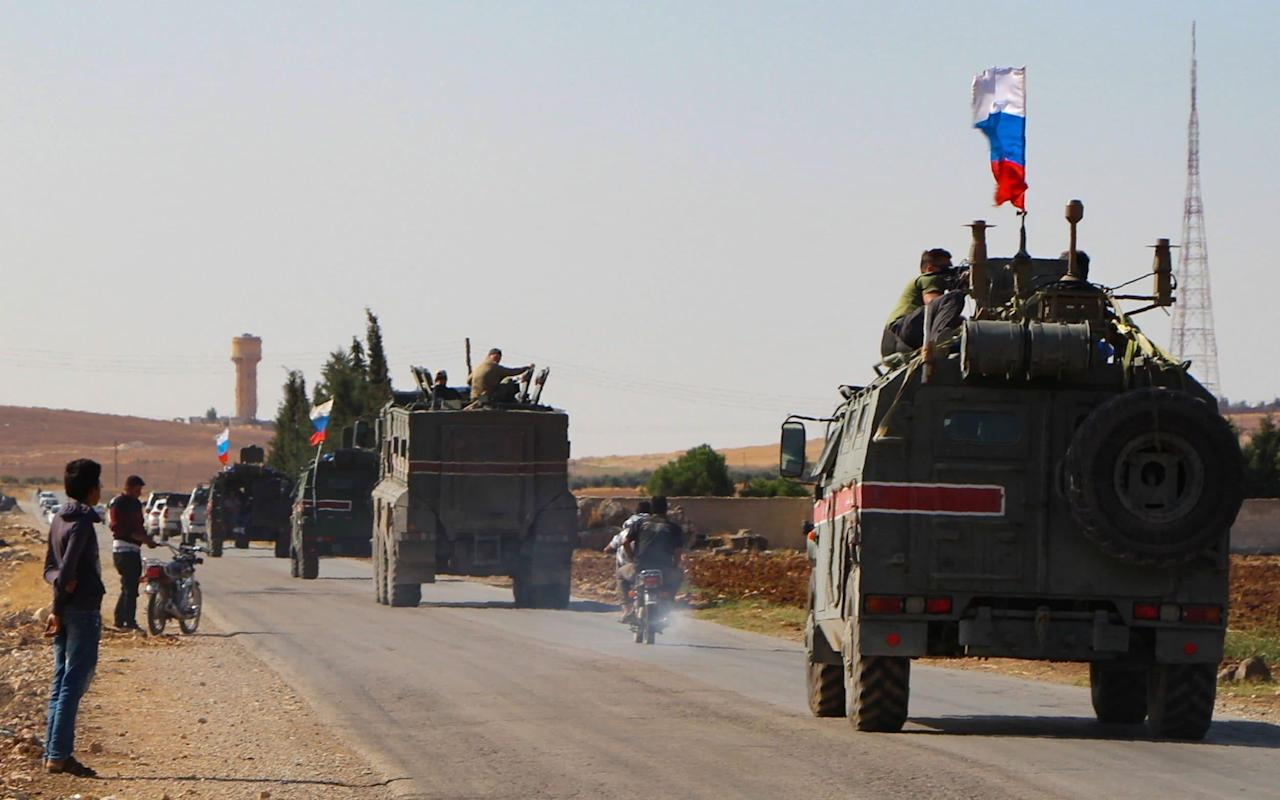 Photo of Russian forces enter Syrian border cities after deal struck with Turkey