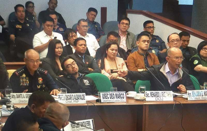 Police official says Albayalde benefited from drug operation